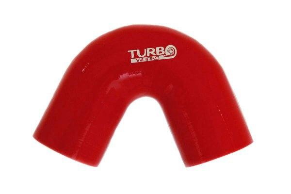 Kolanko 135st TurboWorks Red 76mm - GRUBYGARAGE - Sklep Tuningowy